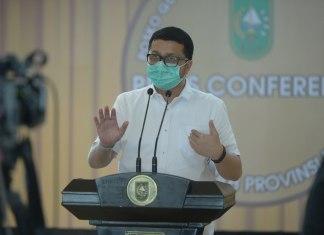 Pasien Positif Corona-19 Riau