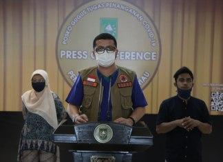 Update Pasien Covid-19 Riau