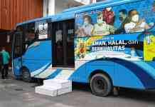 Mobil Vaksinasi Keliling Pekanbaru
