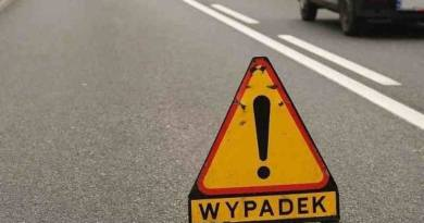 Wypadek w Grabinie, utrudnienia w ruchu