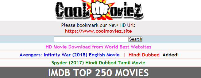 Mycoolmoviez.Xyz: Download Free 2020 Bollywood & Hollywood Movies in HD-mp4