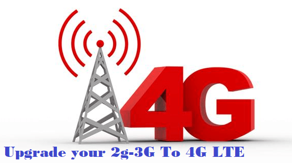 Android Device with 4G LTE