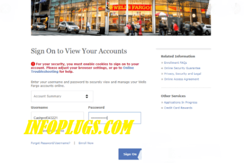 Wells Fargo Bank Login