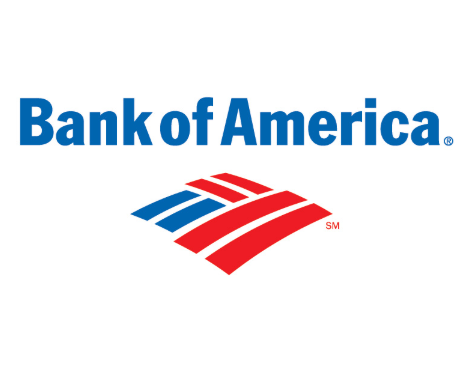 Bank of America Sign in