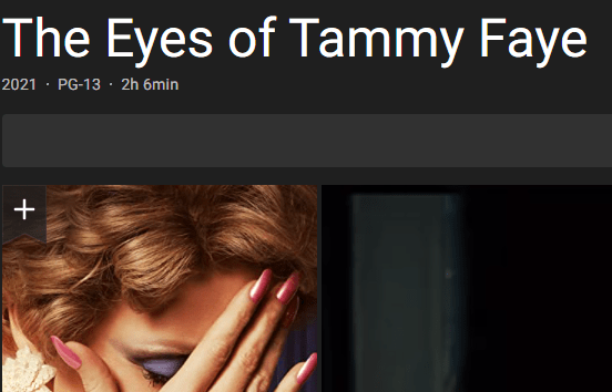 Download The Eyes of Tammy Faye Movie
