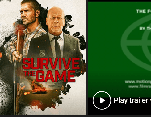 Survive the Game Full Movie