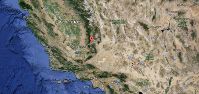 Incendie Erskine californie