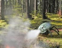 robot feu de foret