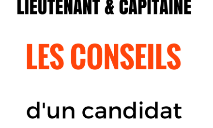 Concours de lieutenant SPP : les conseils d'un candidat