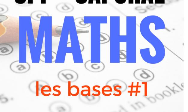 Préparation concours SPP-caporal – Maths – testez-vous  #1