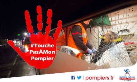 Des vidéos chocs «#TouchePasÀMonPompier»