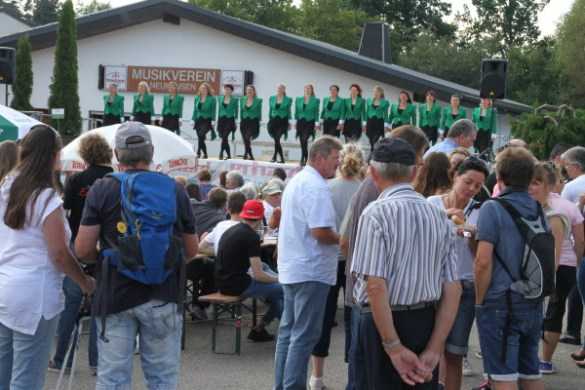 Gewerbeschau am Wochenende in Neuhausen