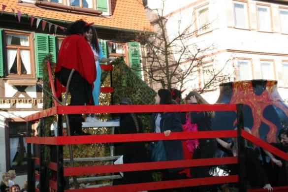 Faschingsumzug beim TCV in Tiefenbronn – Fotogalerie