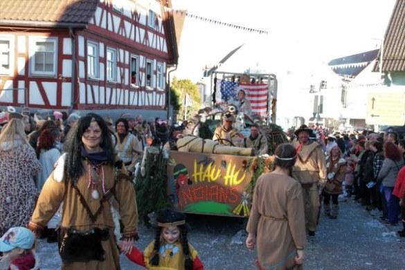 Faschingsumzug beim HAU HU in Neuhausen – Fotogalerie