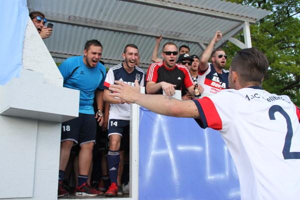 1. FC Schellbronn im Aufstiegsjubel – Fotogalerie