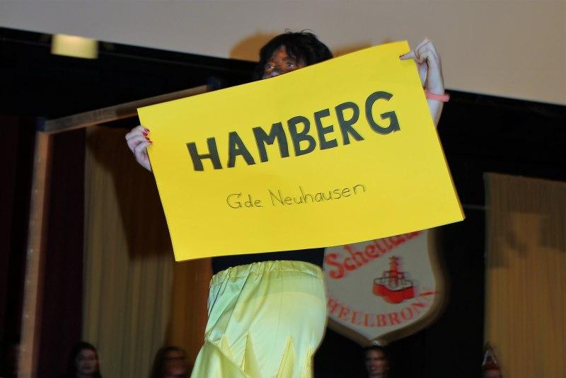 Prunksitzung Narrenbund Schellau Schellbronn – Fotogalerie