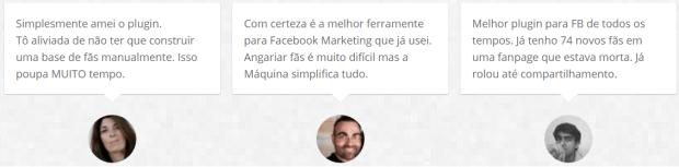 máquina de fãs Fernando Nogueira