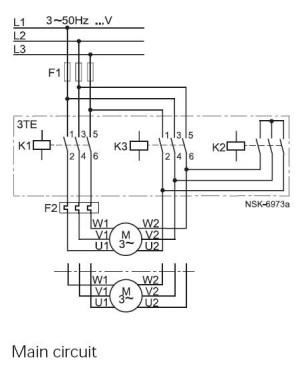 Rangkaian DOL, Auto StarDelta dan Soft Starter pada motor
