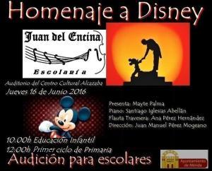 Homenaje a Disney