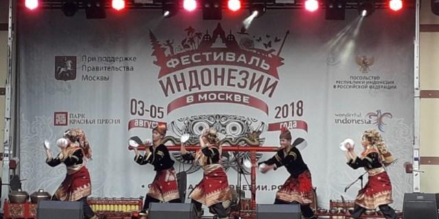 Sanggar Lubuak Nan Tigo Kota Solok Tampil di Moscow Rusia