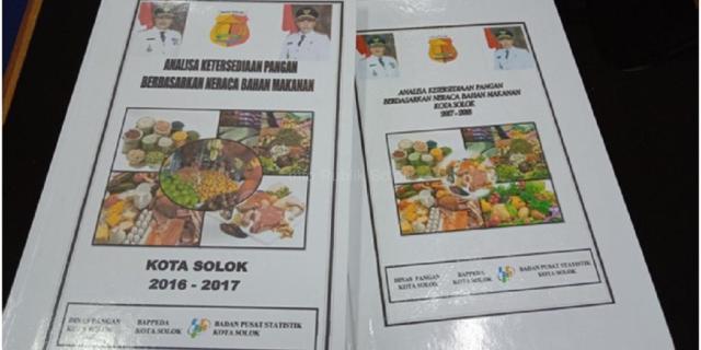 Dinas Pangan Terbitkan Buku Neraca Bahan Makanan