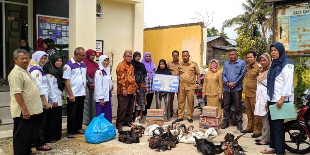 Penyerahan Bantuan KP3K bagi Tujuh Orang Penerima Manfaat