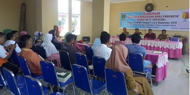 Pelatihan Wirausaha Baru Produktif bagi UMKM Kota Solok