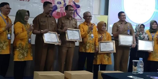 Kota Solok Raih Juara 1 Penghargaan Gelanggang Dagang