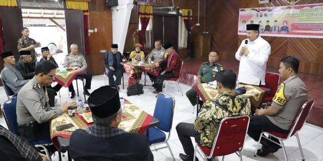 Kapolres Solok Kota Gandeng Walikota dan Niniak Mamak Bahas Kamtibmas