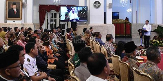 Presiden: Palapa Ring Berdampak Positif ke Banyak Sektor