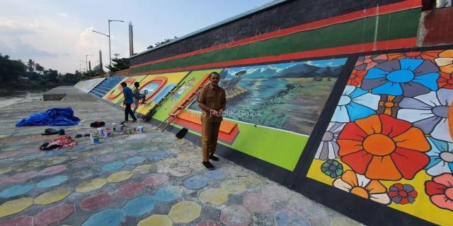 Tampilan Baru Istiqlal Park Menambah Keindahan Kota Solok