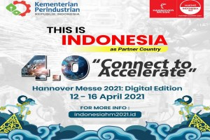Hannover Messe 2021 Digital Edition: Potensi Indonesia Terapkan Industri 4.0
