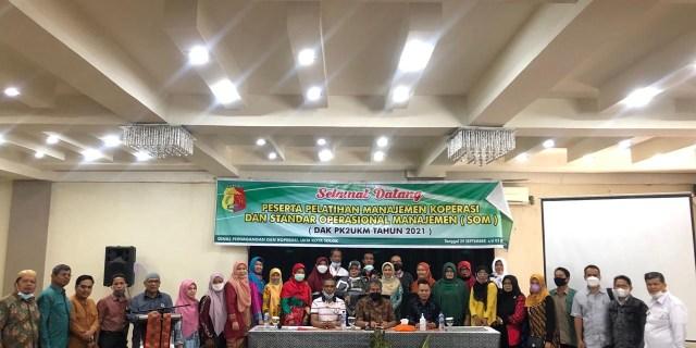 Pelatihan Standar Operasional Manajemen Koperasi di Kota Solok