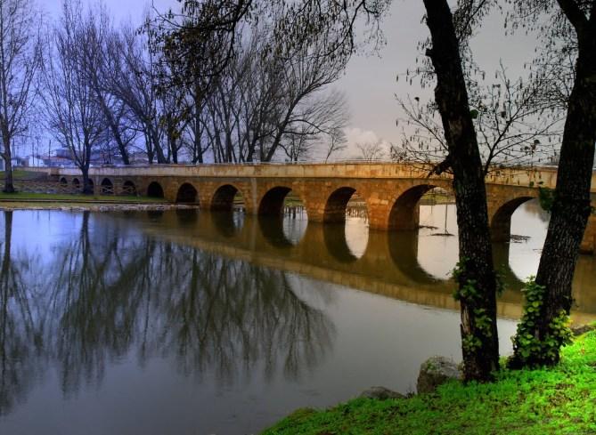 Puente sobre la Rivera de Gata. Foto: Juan Sixto