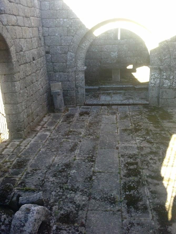 Capilla san miguel monsanto castillo