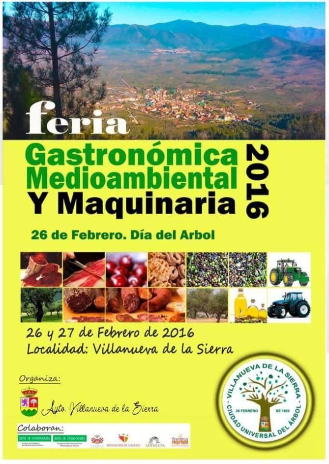 Feria del Árbol, Día del Árbol en Villanueva de la Sierra, Formanortex