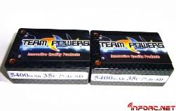 LiPo y aditivos de Team Power