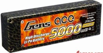 Packs de 5000 y 5800 mah de Gens Ace