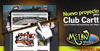 El club CARTT (Fuencarral), estrena sitio web
