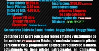 Serie local Off Road de Colima 2013, patrocinada por REDS Mexico