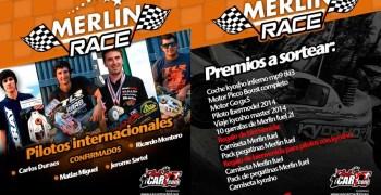 Merlin Race: Pilotos internacionales confirmados y premios