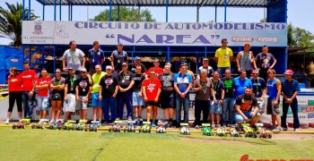 Cristo González se proclama Campeón de Canarias 1/8 TT GAS 2015