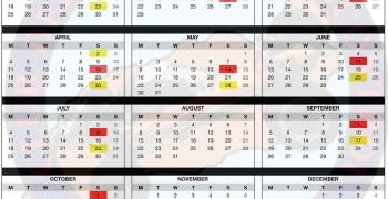Calendario de carreras 2016 en el Club Lanzamigos
