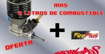 Oferta - Motor Top Elite 5 + 2 litros de fuel en Hobbymacías