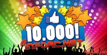 ¡Ya somos 10.000 en Facebook! Si no eres uno de ellos ¿A qué esperas?