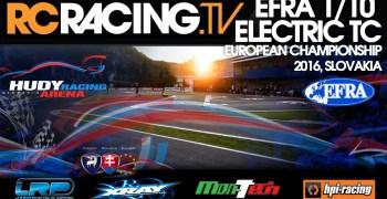 Video en directo - Día de finales en el Campeonato de Europa 1/10 pista
