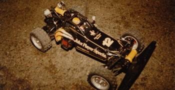 Galería de fotos - Ayrton Senna y sus Tamiyas radiocontrol