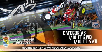 26 y 27 de Noviembre - Guadalcacín Indoor 4.0, solo para 1/10