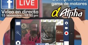 Mañana a medio día - Vídeo en directo en Facebook. Comparativa gama Alpha