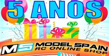 Modelspain 2.0 cumple cinco años ¡¡Felicidades equipo!!
